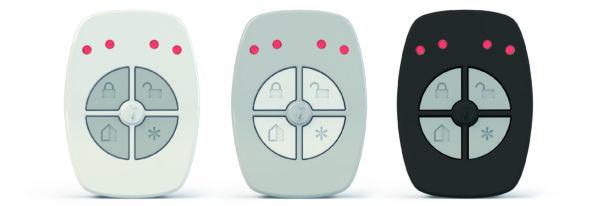 ریموت کنترل 5 دکمه سری800 مگاهرتز با باطری