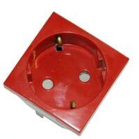 پریز برق ارت دار قرمز ایفاپل 45131 SVM